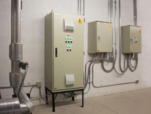 Tableros Eléctricos del sistema de Aire Acondicionado, schlumberger