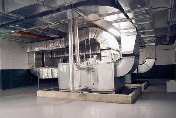 Unidad Manejadora de Aire con ductos, Fundación Valle del Lili