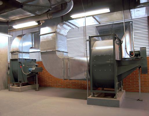 ventiladores centrifugos, Fundación Valle del Lili