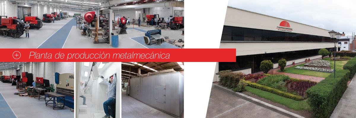 Producción metalmecánica
