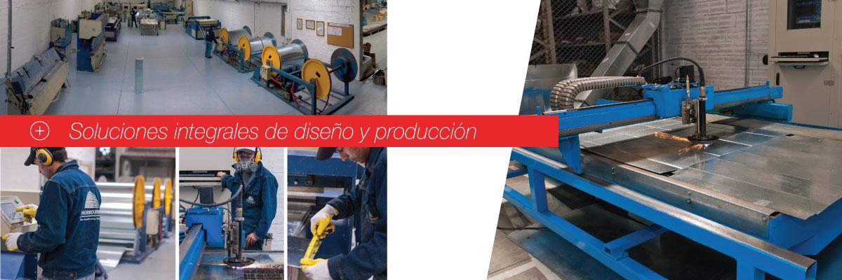 Soluciones integrales de diseño y producción