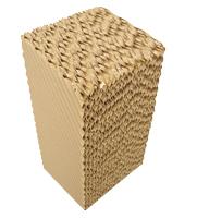 Paneles evaporativos de celulosa